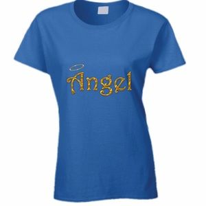 Royal Blue Angel Tee